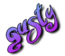 Gusty's gamla logga