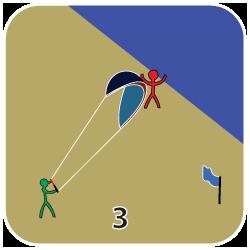 Launcha en kite - steg 3
