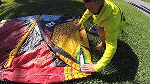 Packa ihop kiten rätt så håller den längre
