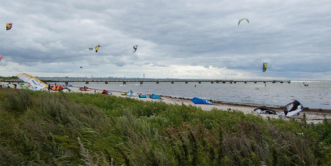 Habo Ljung kitespot i Skåne