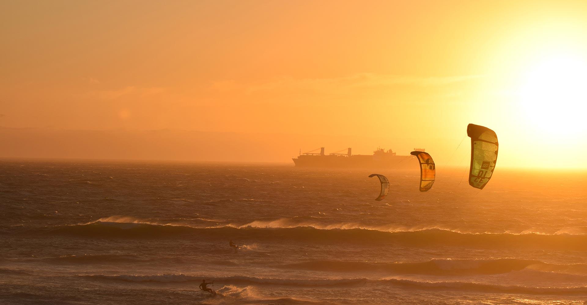 Boka en kitesurfing kurs med Gusty kiteskola