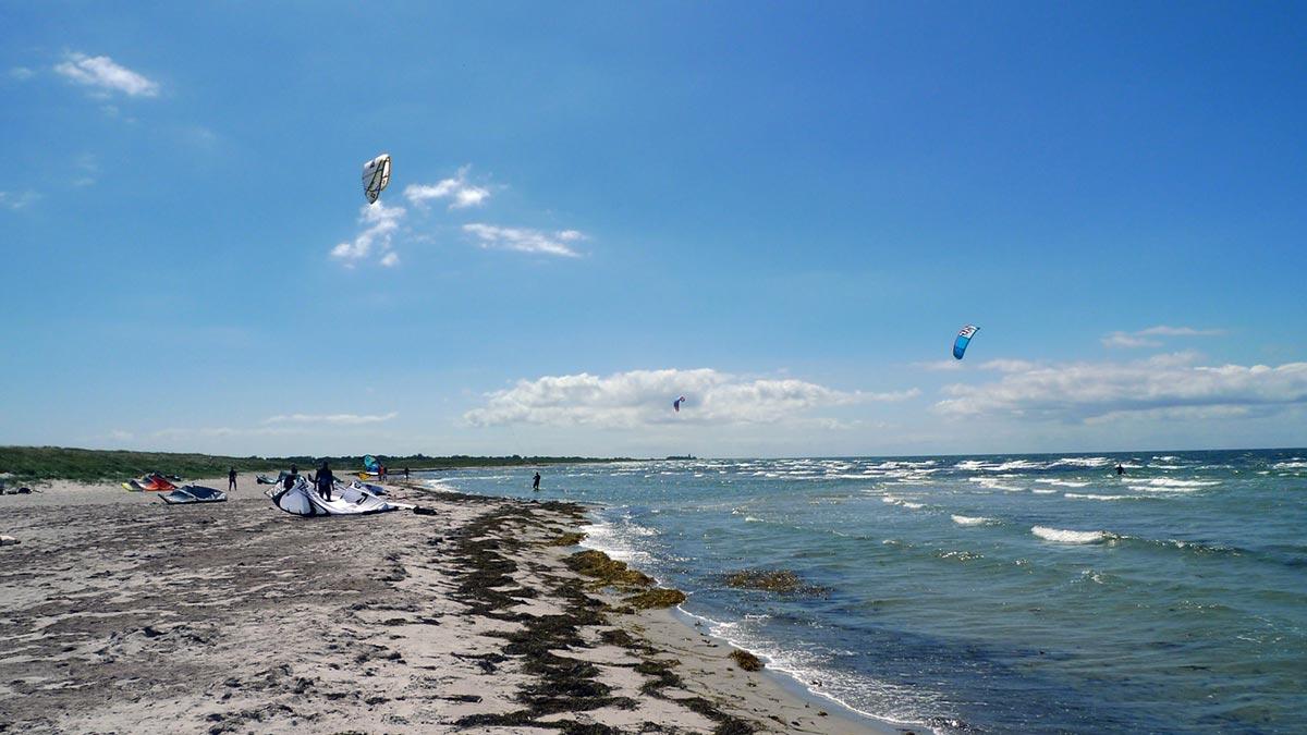Kitesurfing Skåne Skanörs Hamn