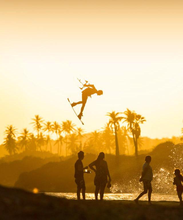kitesurfing mobile photo