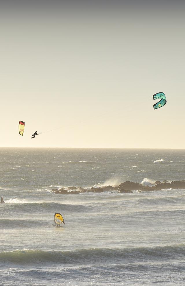 kitesurfing sydafrika