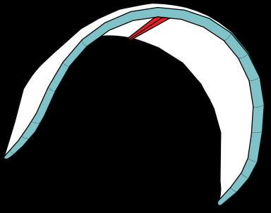 Kite med en strut