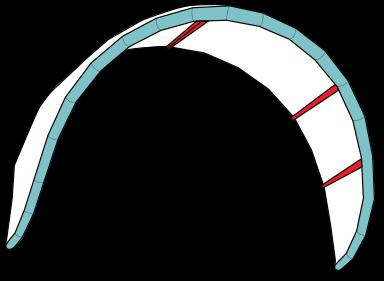 Kite med 5 strutar